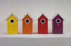 TARGET798_0_ kolorowi pudełka Zdjęcia Royalty Free