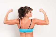 target828_0_ jej dojrzałych mięśnie atlety kobieta Zdjęcie Stock