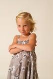 TARGET844_0_ dziewczyna Obrazy Royalty Free