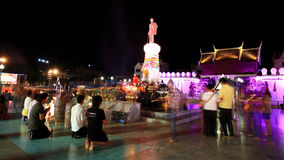 TARGET862_0_ Suranaree statua Zdjęcia Royalty Free