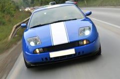 TARGET881_0_ w dół autostradę strojeniowi samochody Zdjęcia Royalty Free