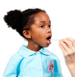 target958_0_ czek śliczny dziewczyny trochę medyczny up Obraz Stock