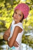 TARGET98_0_ małej dziewczynki Natura zdjęcia royalty free