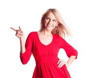 target99_0_ stronę kobieta Zdjęcie Stock