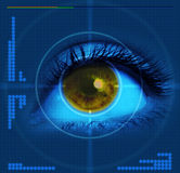 Targeted eye Stock Images