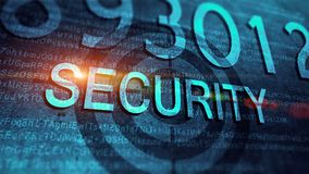 Technology cyber security Stock Photo