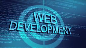 Project management and application development Stock Photography