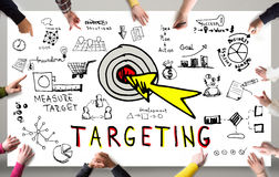 Targeting Business Concept Royalty Free Stock Photo