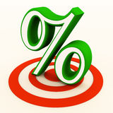 Targeting customers wanting discounts Royalty Free Stock Photo