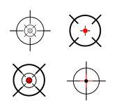 Targets. This is targets on white Royalty Free Stock Photo