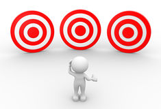 Targets Stock Photo