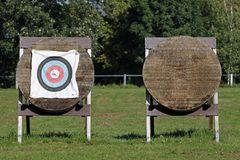 Targets for Archery stock photo