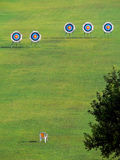 Targets for arrows. Royalty Free Stock Image