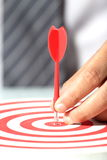Targets Of Business Success Stock Images