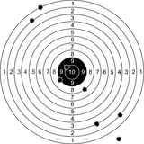 Targets set Royalty Free Stock Photos