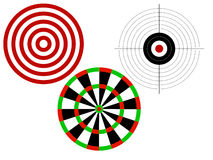 Targets for shooting Royalty Free Stock Images