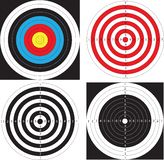 Targets. For shooting. Vector Illustration Royalty Free Stock Photo