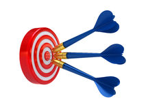 Targets Success Royalty Free Stock Photos