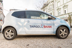 Targo Bank car Stock Image