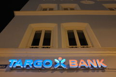 Targo Bank Royalty Free Stock Photos