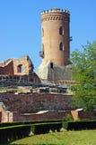 Targoviste: detalhe da torre do chindia Imagens de Stock Royalty Free