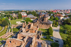 Targoviste old town ruins Stock Images