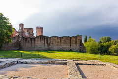 Targoviste old town walls Royalty Free Stock Photography