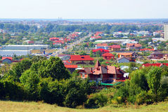Targoviste panorama Royalty Free Stock Photography