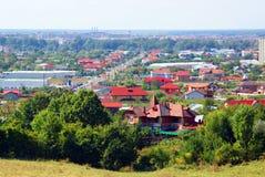 Targoviste panorama Royalty Free Stock Photography