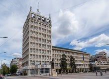 Dambovita County Council and Prefecture building in Targoviste, Romania.