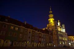 targowa noc stary Poznan Zdjęcia Royalty Free