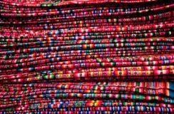 targowa Peru tkanin tekstura Obrazy Royalty Free