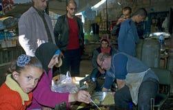 Targowa scena, Betlehem, Palestyna Fotografia Royalty Free