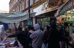 Targowa scena w Londyn Zdjęcia Stock