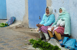 Targowa scena w Maroko Zdjęcie Royalty Free