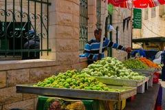 Targowa scena w Nazareth Zdjęcie Royalty Free