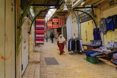 Targowa scena w Nazareth Obraz Royalty Free