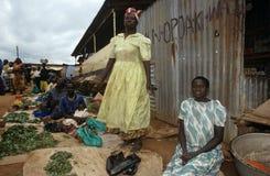 Targowa scena w Uganda Obraz Stock