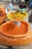 Targowego życia Burma gorący chłody Zdjęcie Stock