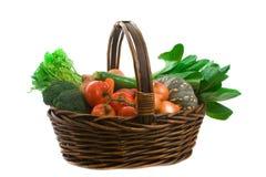 targowi koszy warzywa Obrazy Stock