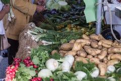 targowi warzywa zdjęcia stock