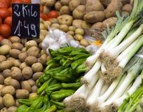 targowi warzywa fotografia stock