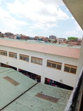 Targowy budynek w Wschodnim Uganda Afryka Fotografia Royalty Free