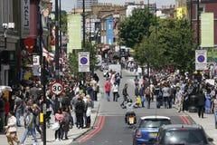 targowy Camden miasteczko London Zdjęcia Royalty Free