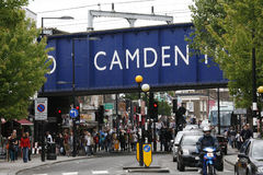 targowy Camden miasteczko London Obraz Royalty Free