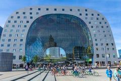 Targowy Hall Markthal Rotterdam holandie Zdjęcie Stock