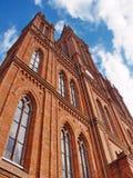 targowy kościół marktkirche Wiesbaden Obrazy Stock