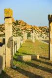 Targowy kompleks Vitthala świątynia w Hampi, India obraz royalty free