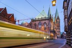 Targowy kwadrat Bremen Niemcy zdjęcia stock