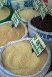 Targowy produkt spożywczy Cambodia miejscowego rynku siem przeprowadza żniwa obraz stock